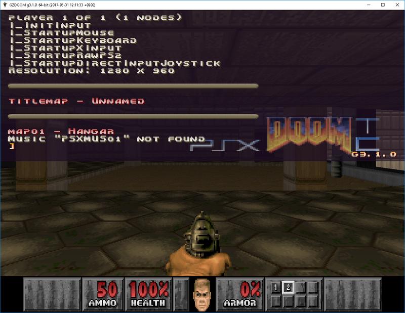 PSX Doom/Final Doom TC (Version 2 135 now released!) - Page