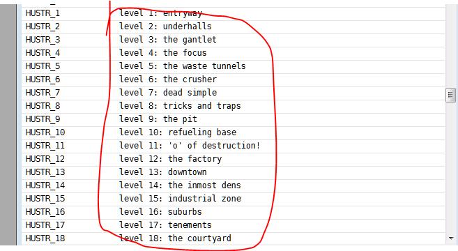 How do I change a map name? - Doom Editing - Doomworld