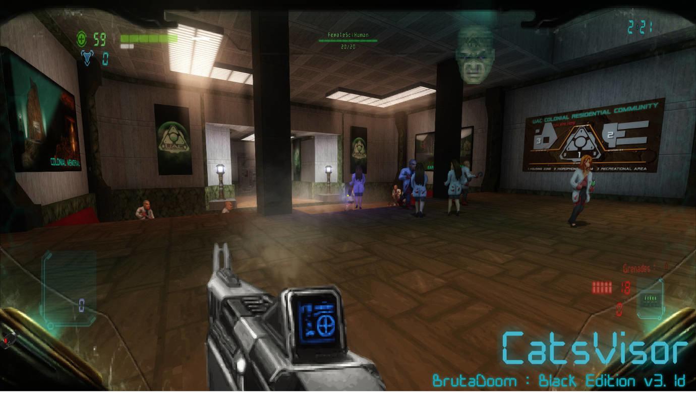 HUD] CatsVisor HUD 1 5 - WADs & Mods - Doomworld