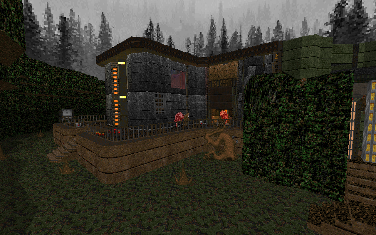 Desecrated Station (Gzdoom Map) Out now! (V6) - WADs & Mods