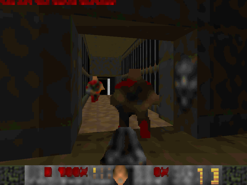 You Need Glasses (Low Quality graphics pack for doom 2) - WADs