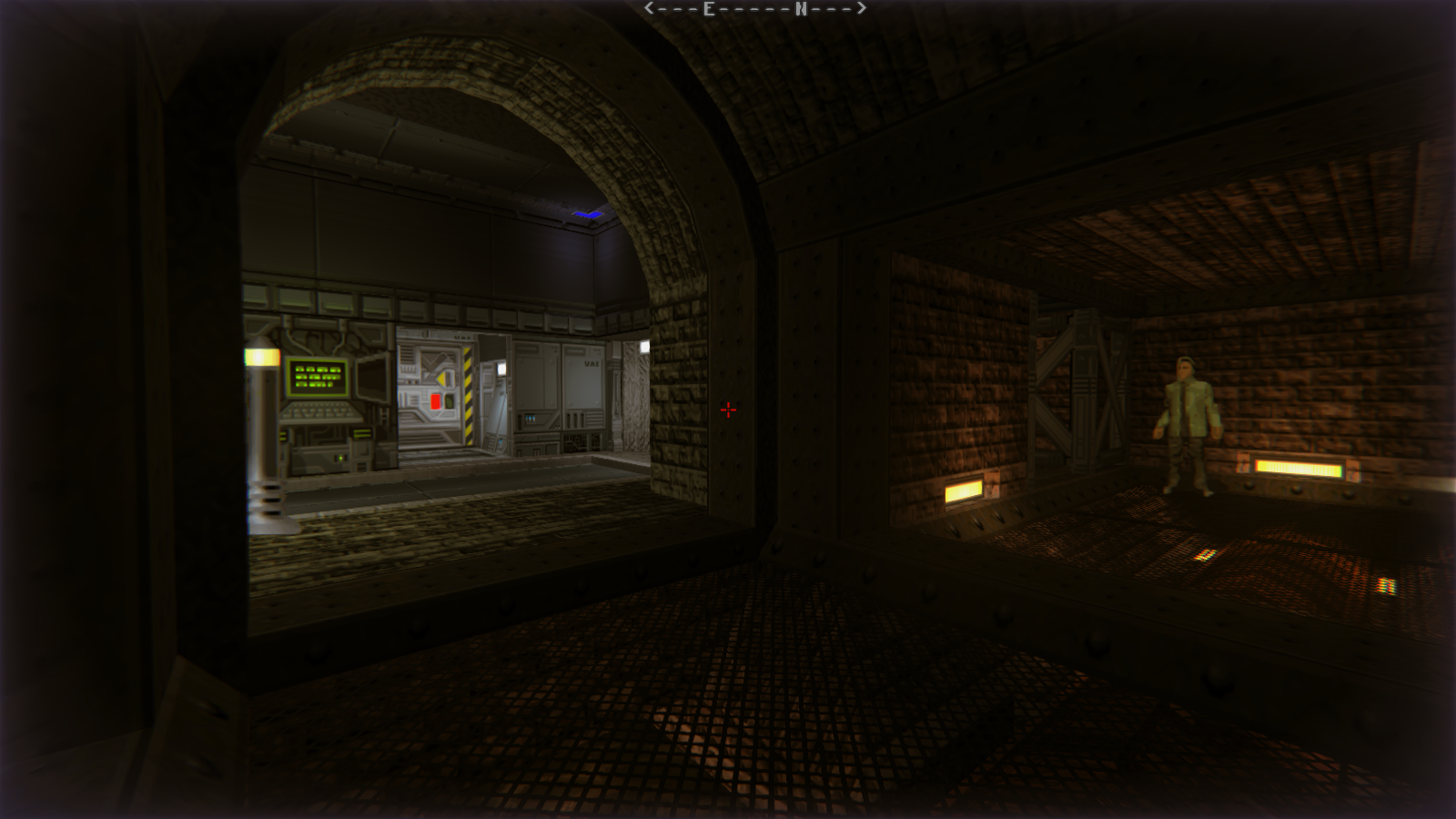 DRRP Doom RPG Remake Project SEC4 Sector 4 Civilian Scientist Depot Screenshot