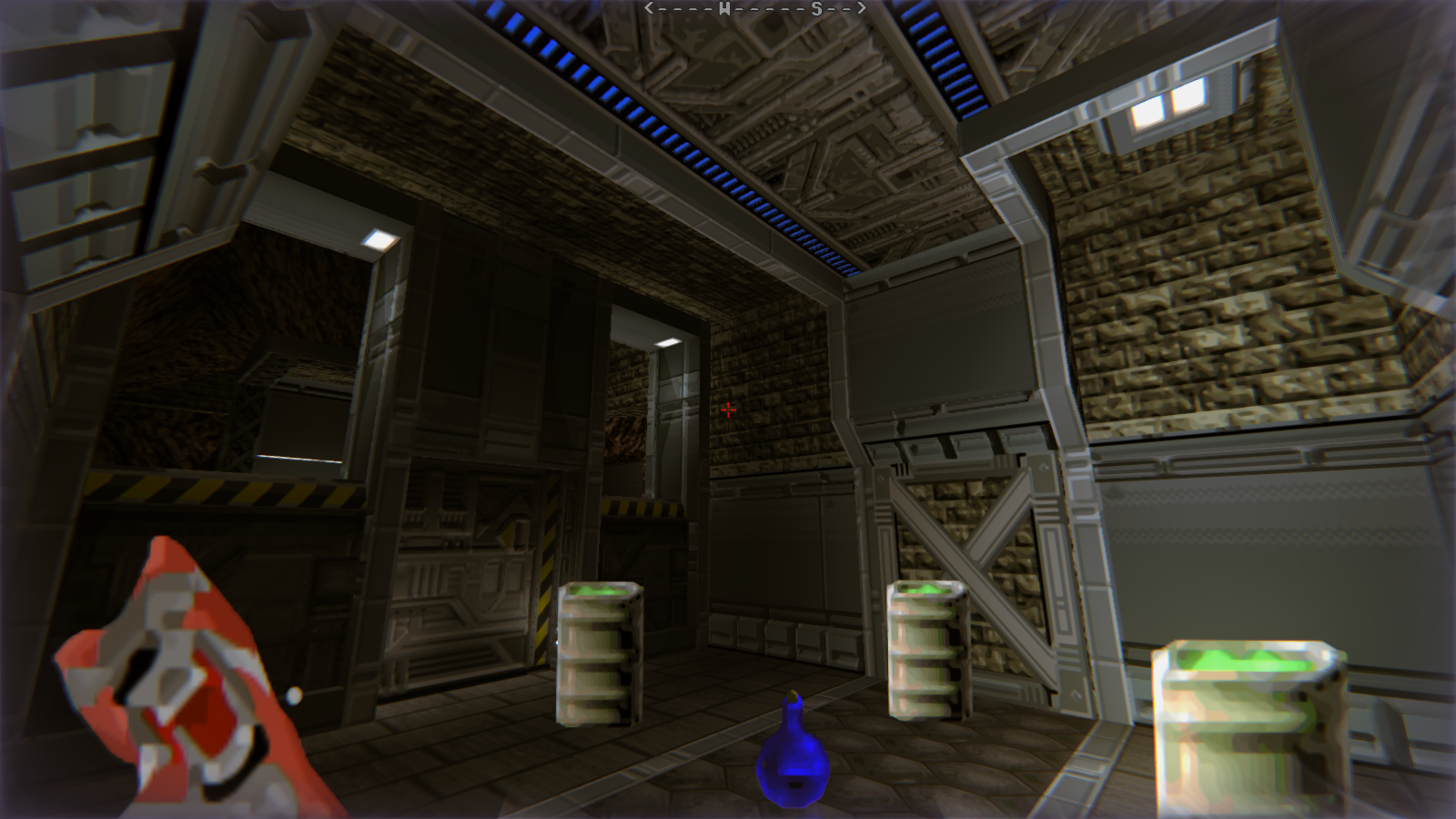 DRRP Doom RPG Remake Project SEC4 Sector 4 Cerberus Barrel Caves Screenshot