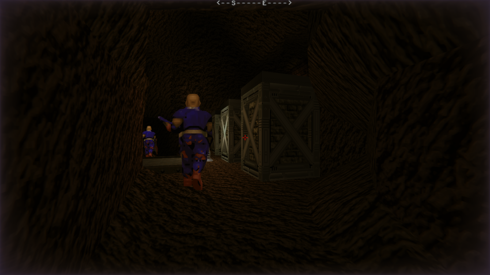 DRRP Doom RPG Remake Project SEC4 Sector 4 Zombie Lt Caves Screenshot
