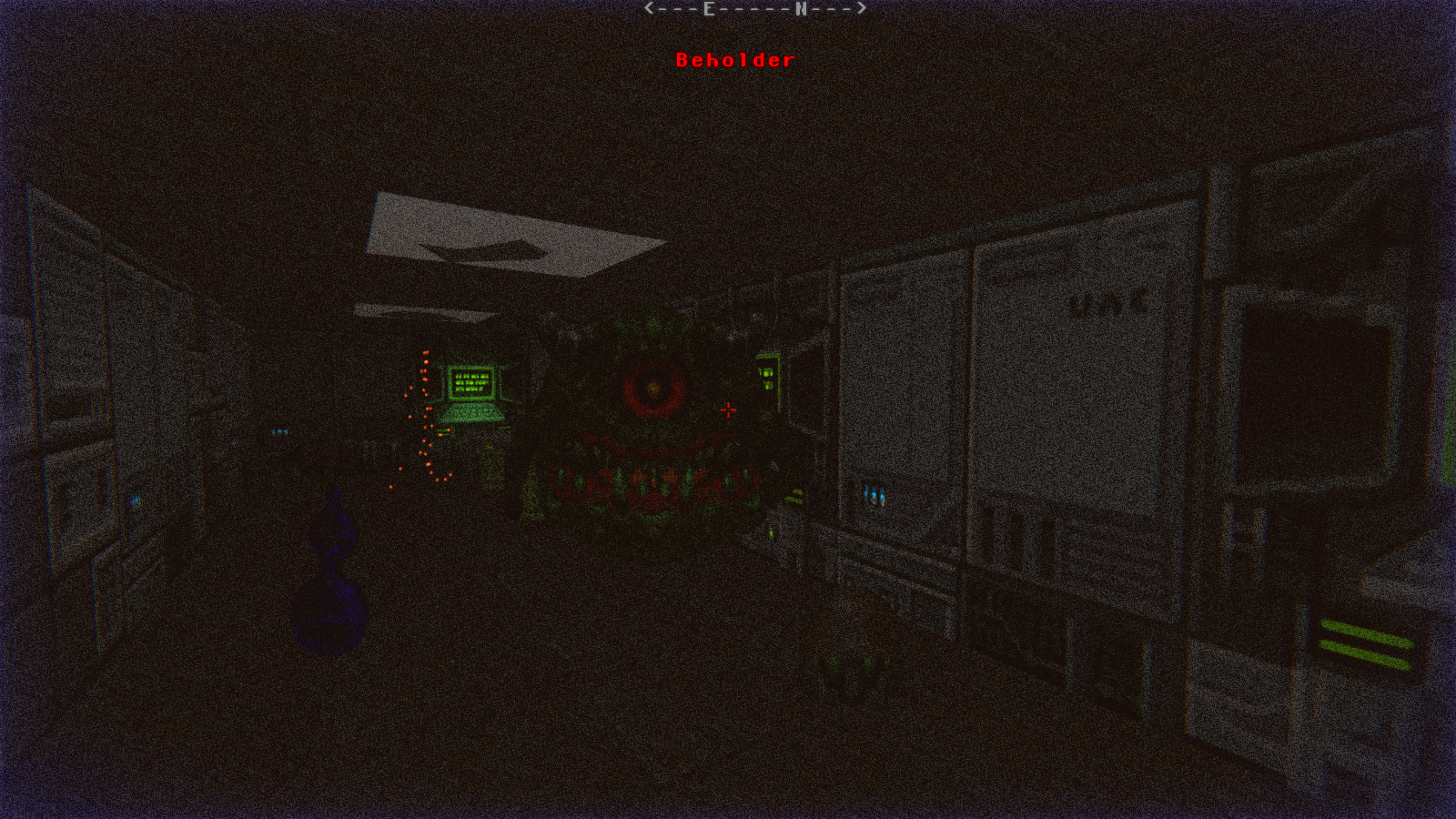 DRRP Doom RPG Remake Project SEC2 Sector 2 Beholder Screenshot