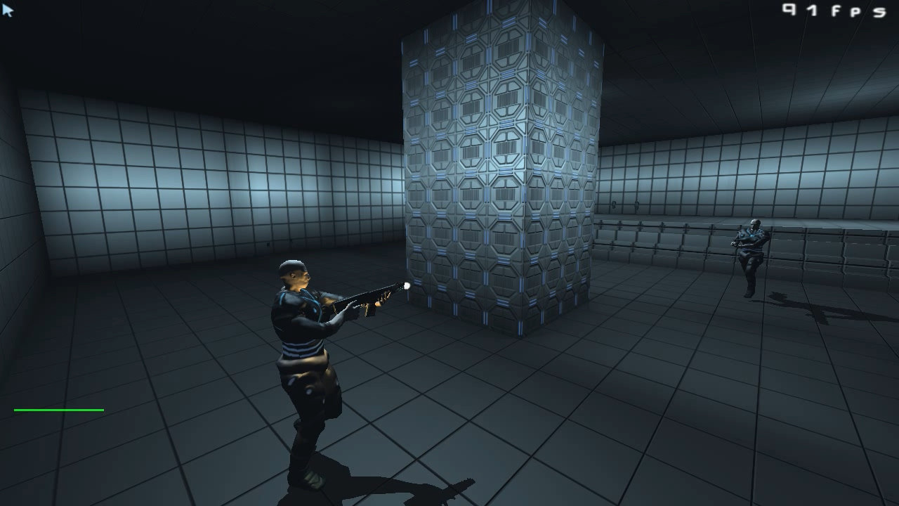 A free to play project I'm working on using Doom 3 engine