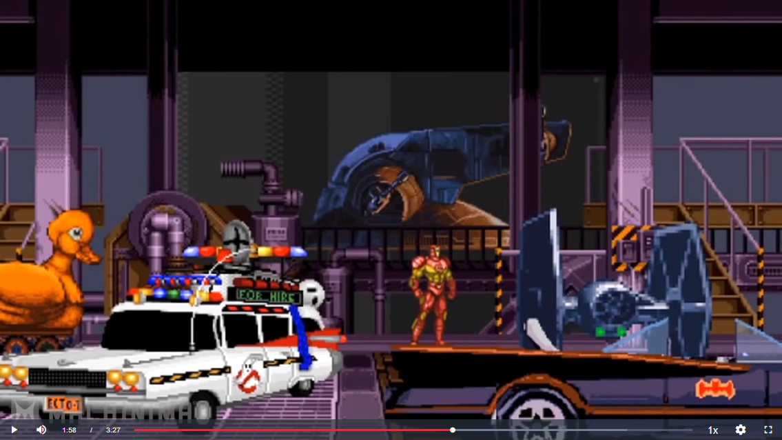 Ghostbusters Doom car sprite used in Sonic For Hire.png