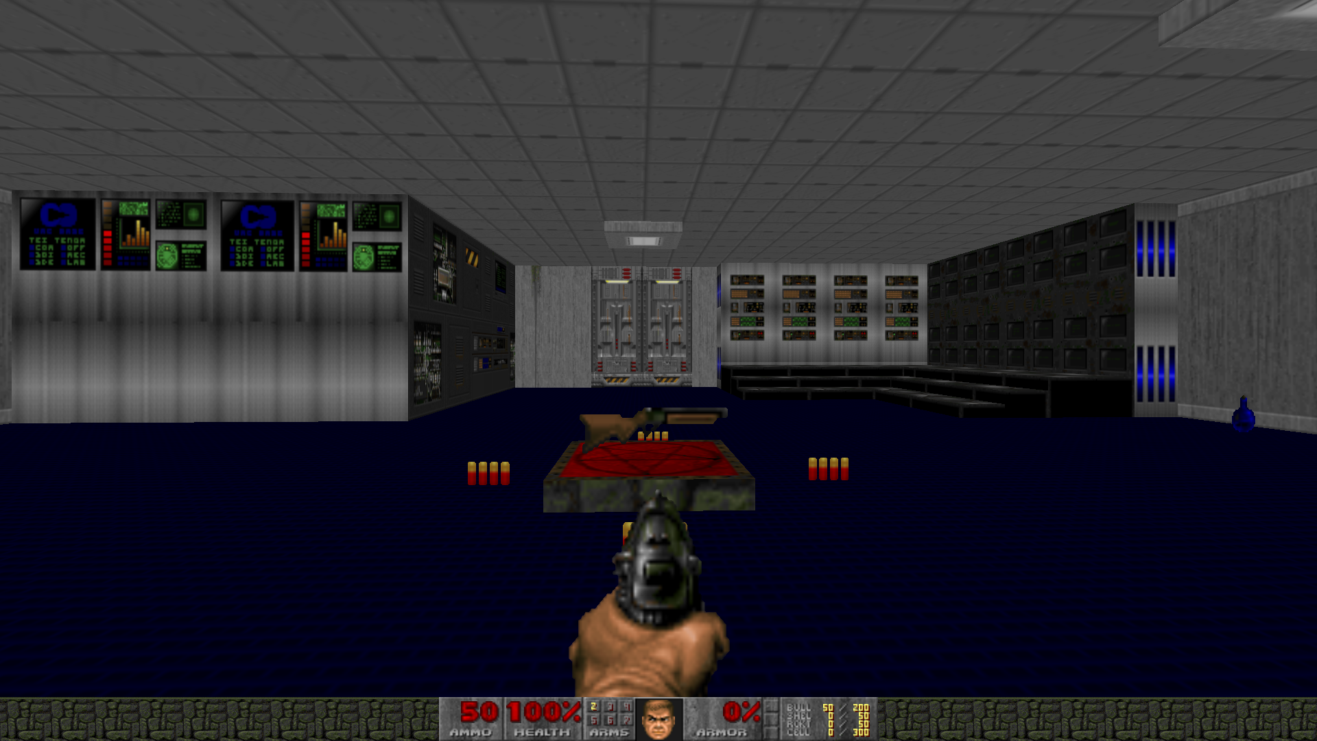 My first doom map: Looking for feedback for future projects