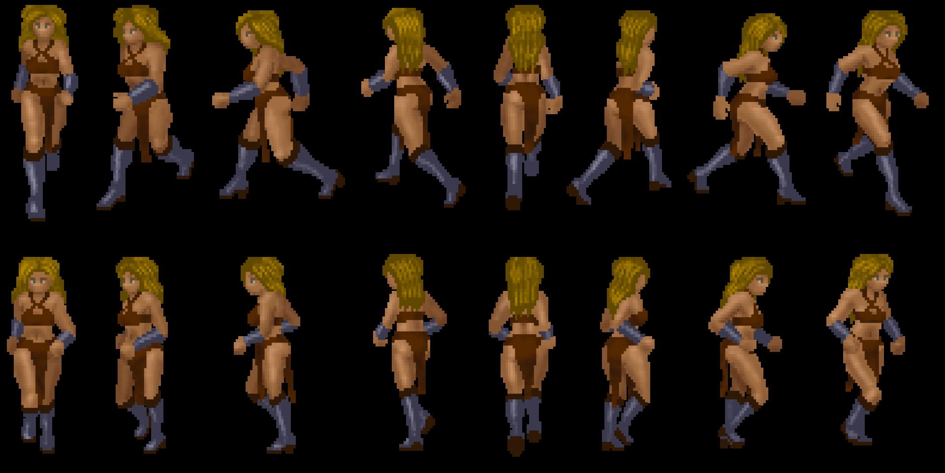 Female Fighter progress spritesheet.png