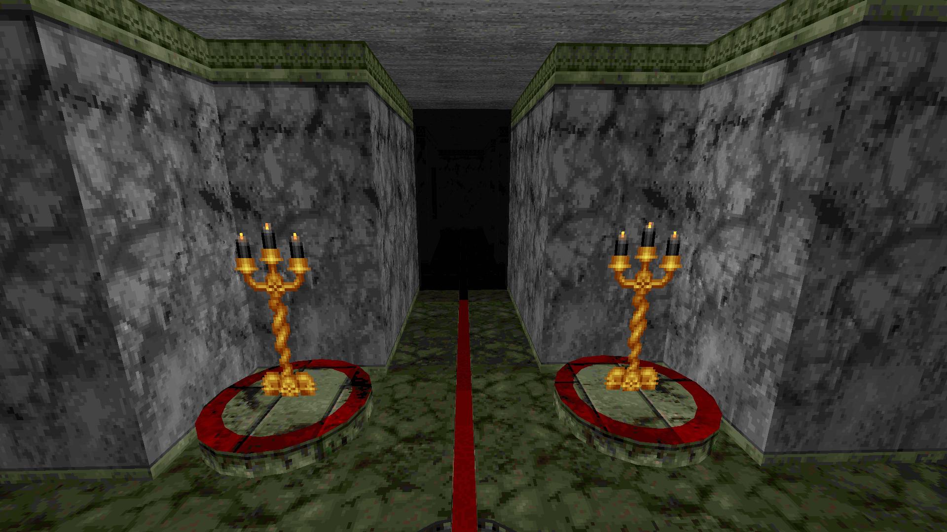 Darkened Halls