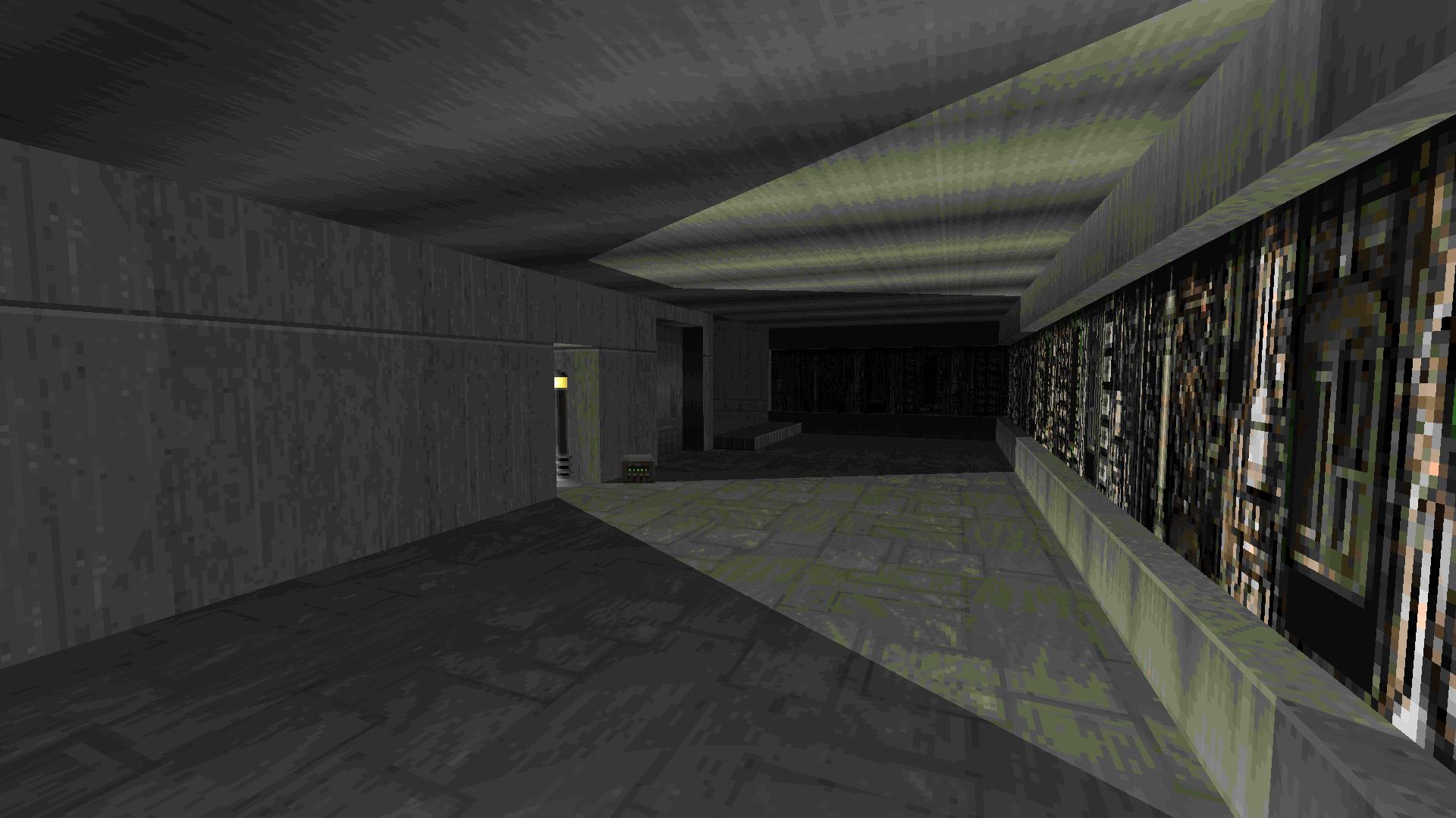 Techbase Hallway